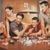 friends, serial, poker
