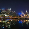 melbourne, australia, night