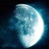 moon, stars, space