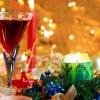 new year, christmas, wine
