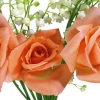 roses, lilys of the valley, bouquet
