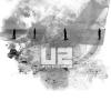 u2, band, silhouettes