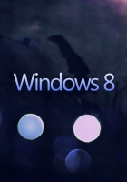 windows 8, white, blue