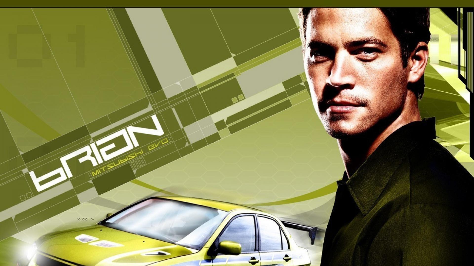 2 Fast Furious Paul Walker Brian Oconner