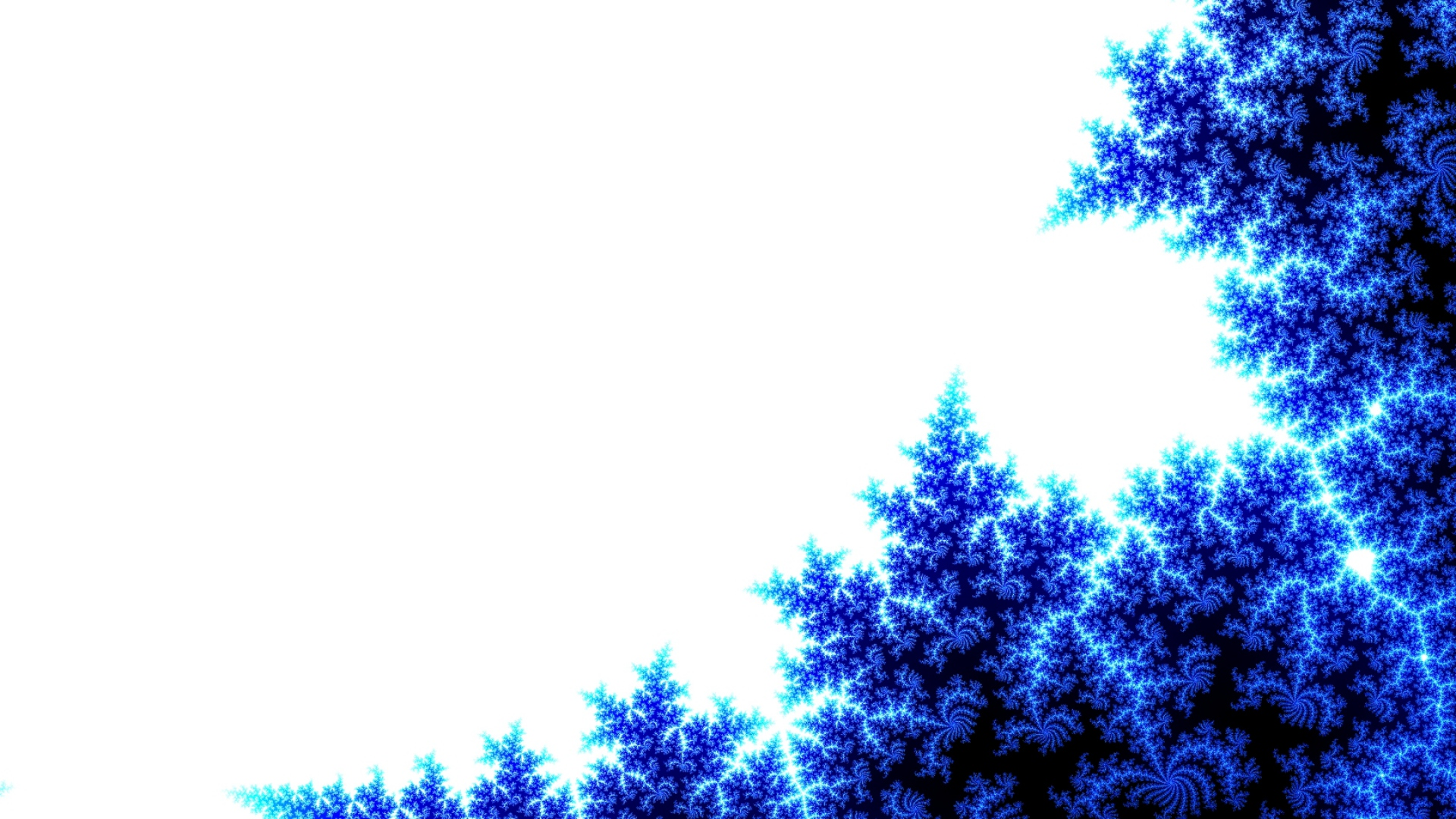 download wallpaper 1920x1080 abstract, blue, tree, white full hd