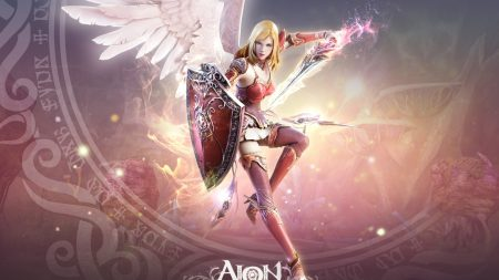 aion the tower of eternity, girl, bow