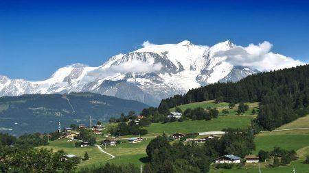 alpes, mountains, top