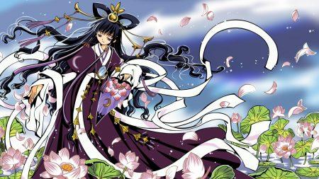 anime, girl, kimono