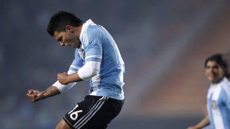 argentina, kun aguero, soccer