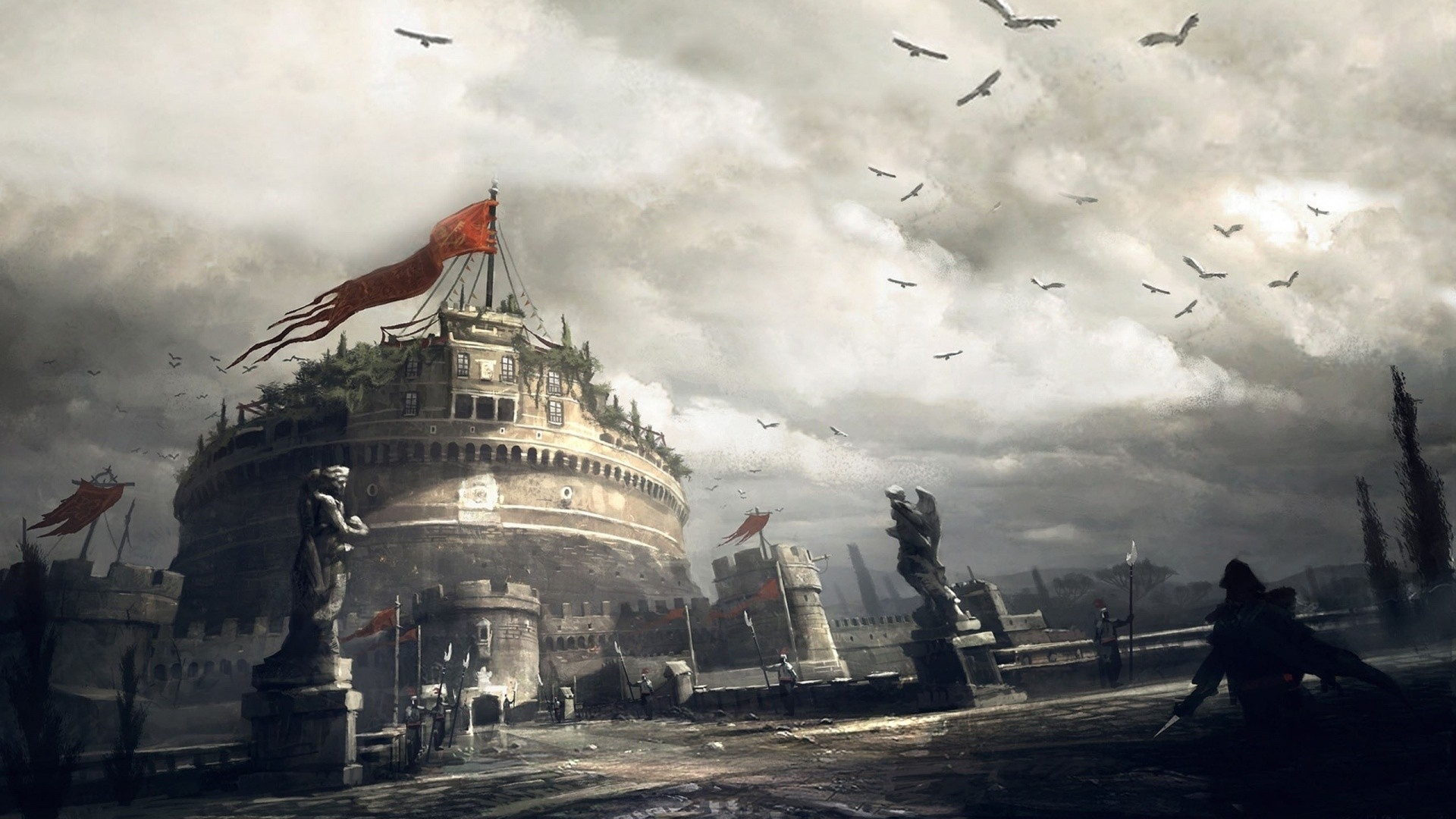 assassins_creed_birds_sky_clouds_house_f