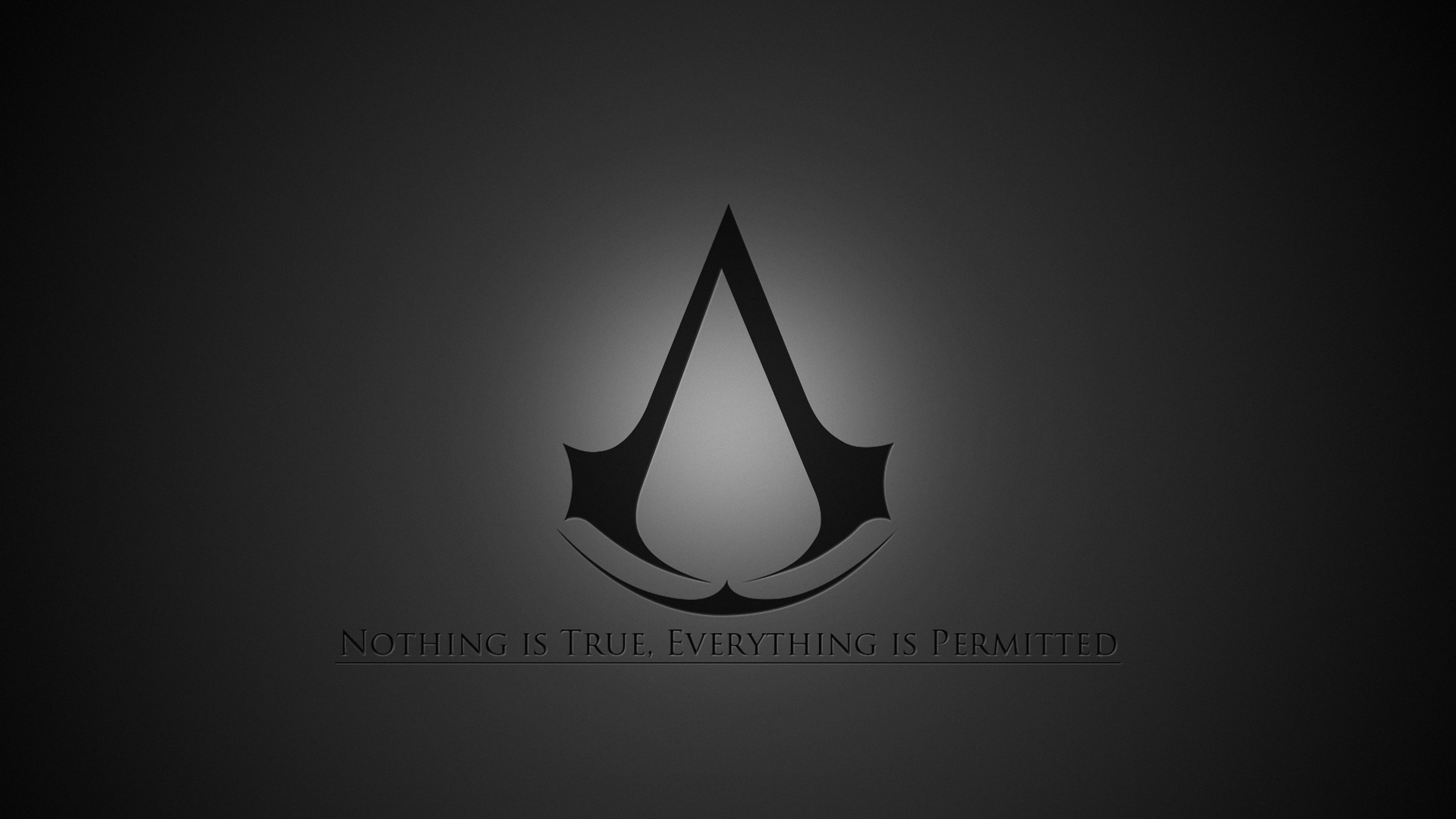Assassins Creed Emblem Quote