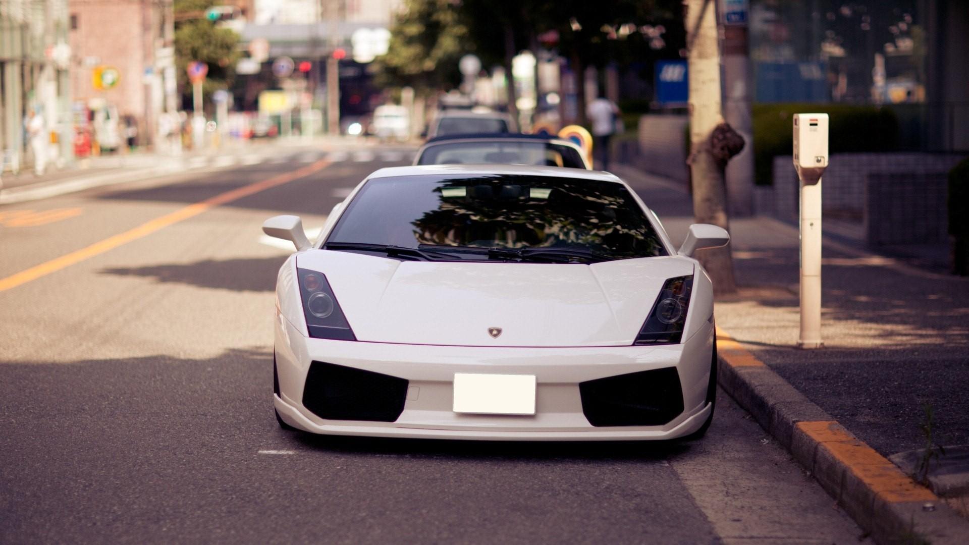 Auto, White, Sports Car