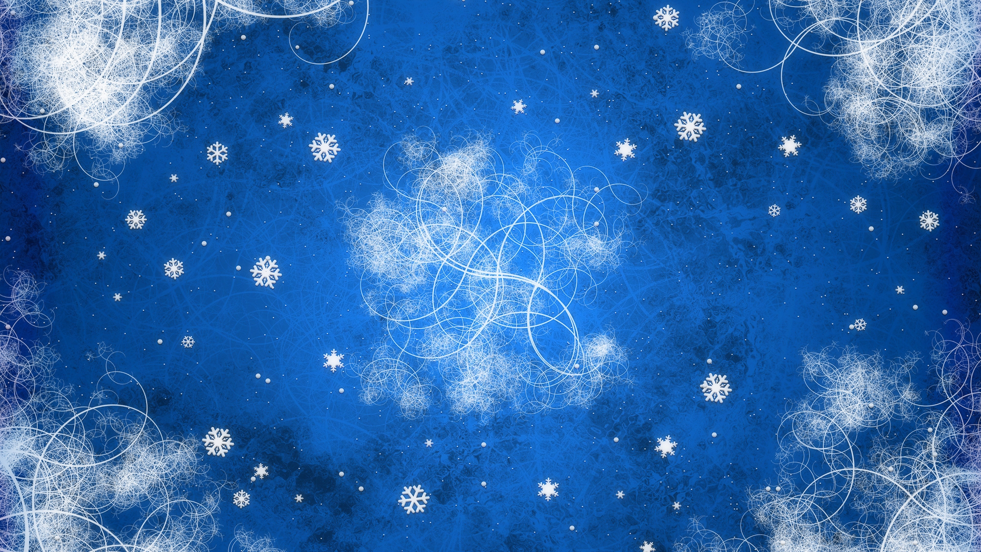 background pattern snowflake