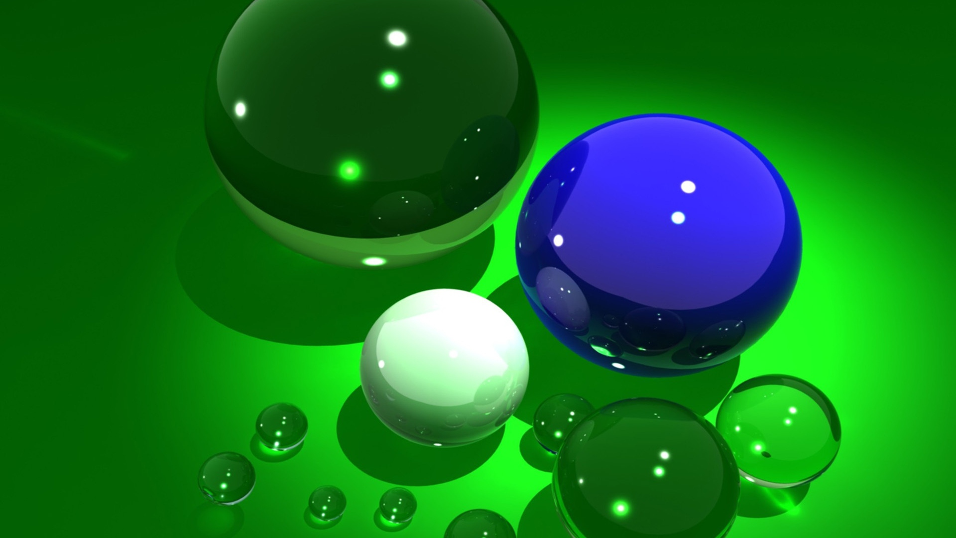 Glass 3d Hd Wallpapers 1080p: Download Wallpaper 1920x1080 Ball, Variety, Glass