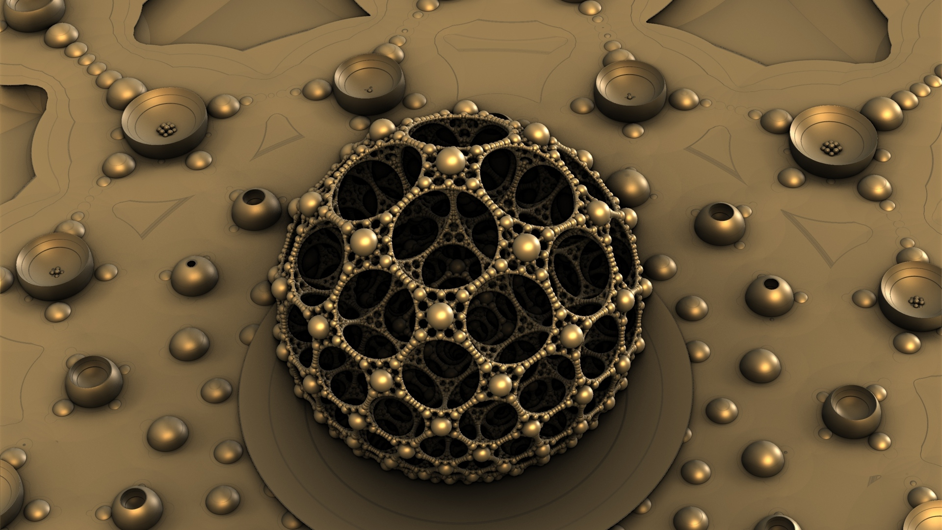 Earnings Disclaimer >> Download Wallpaper 1920x1080 balls, fractal, shape Full HD 1080p HD Background