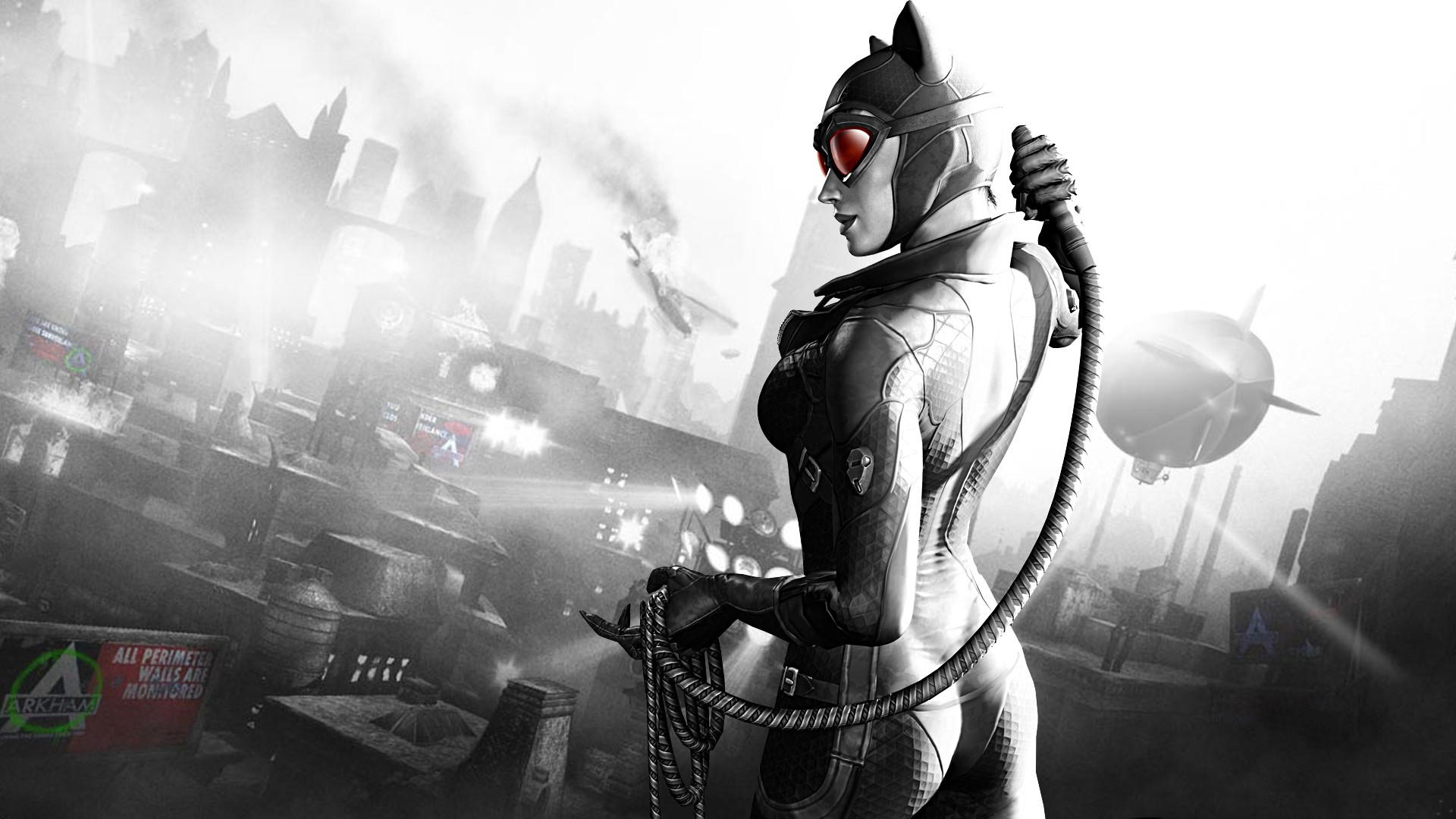 Batman Arkham City Catwoman Girl