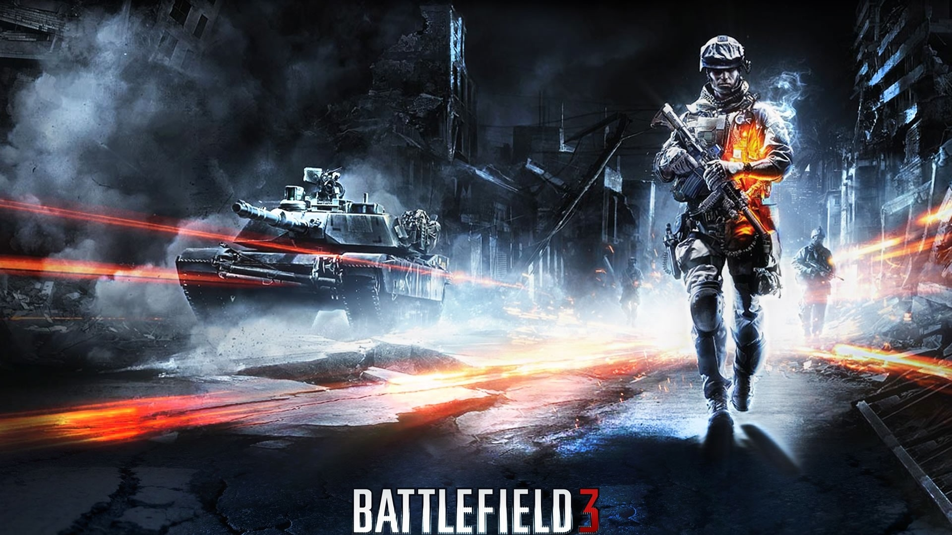 Download wallpaper 1920x1080 battlefield 3 tank city road full battlefield 3 tank city voltagebd Images