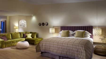 bed, style, interior