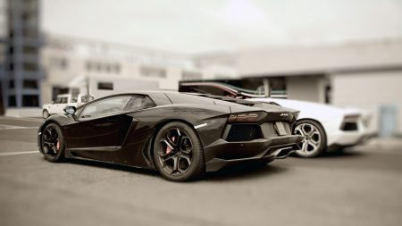 black, stylish, cars
