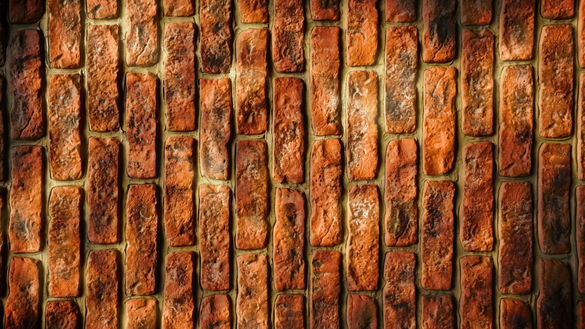 Download Wallpaper 1920x1080 Bricks Background Stone Dark
