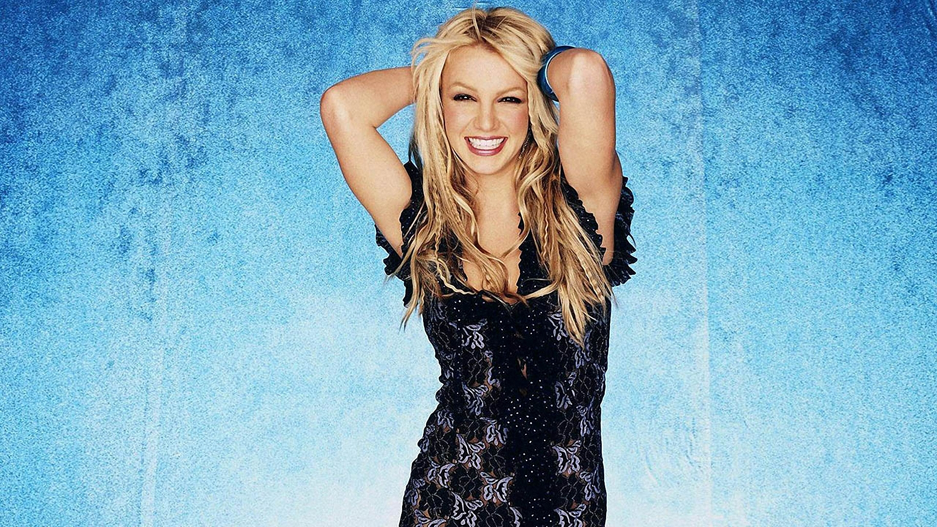 Download Wallpaper 1920x1080 Britney Spears, Smile, Teeth
