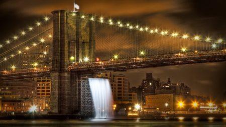 brooklyn bridge, united states, new york city