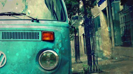 bus, lights, street
