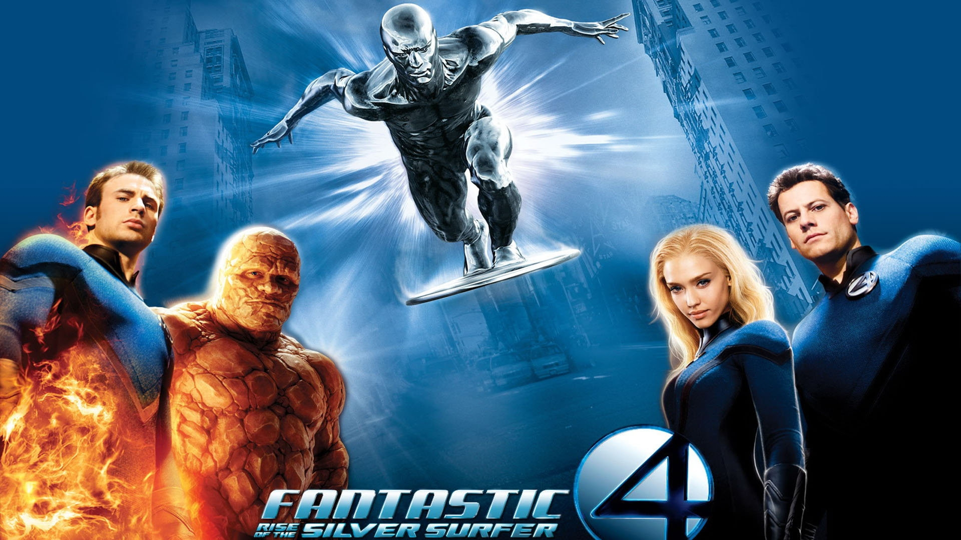 Download Wallpaper 1920x1080 Fantastic 4, Rise Of The