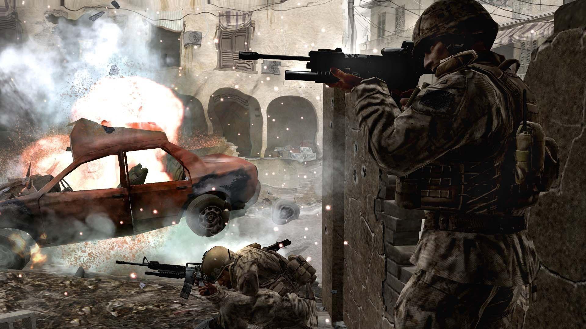 Download Wallpaper 1920x1080 Call Of Duty 4 Modern Warfare Soldiers
