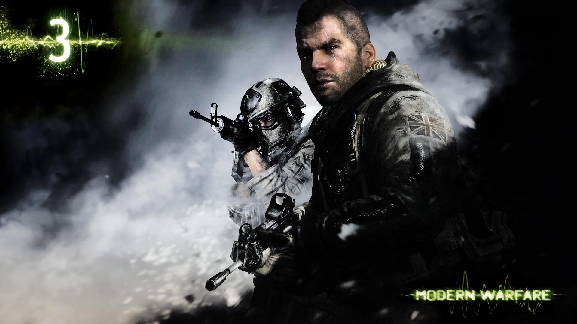 Call Of Duty Modern Warfare 3 Soldiers Scar