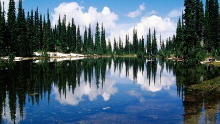 canada, lake, coast