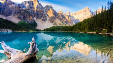 canada, mountains, lake