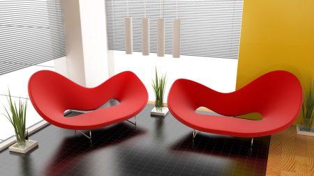 chair, room, interior