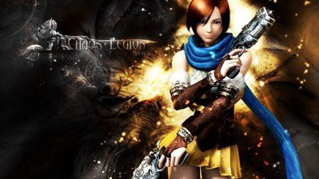 chaos legion, girl, pistols