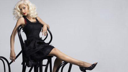 christina aguilera, leg, blonde