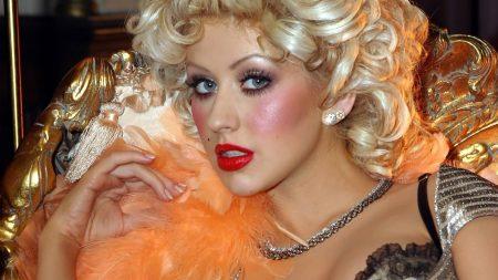 christina aguilera, look, cosmetics