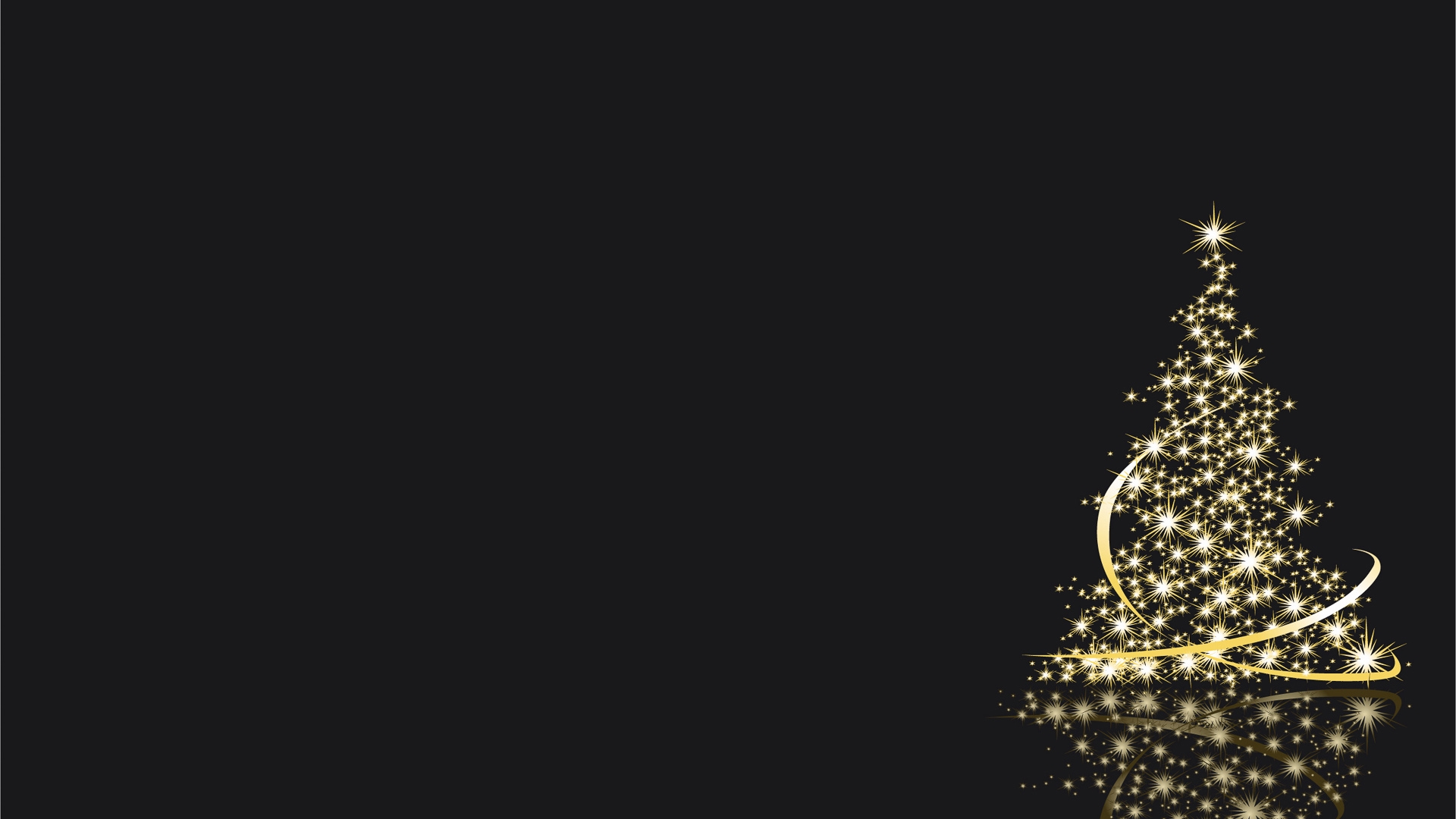 Download Wallpaper 1920x1080 Christmas Tree Lights New