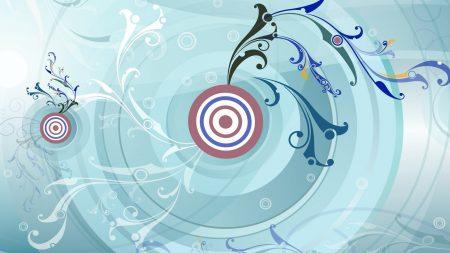 circle, target, pattern