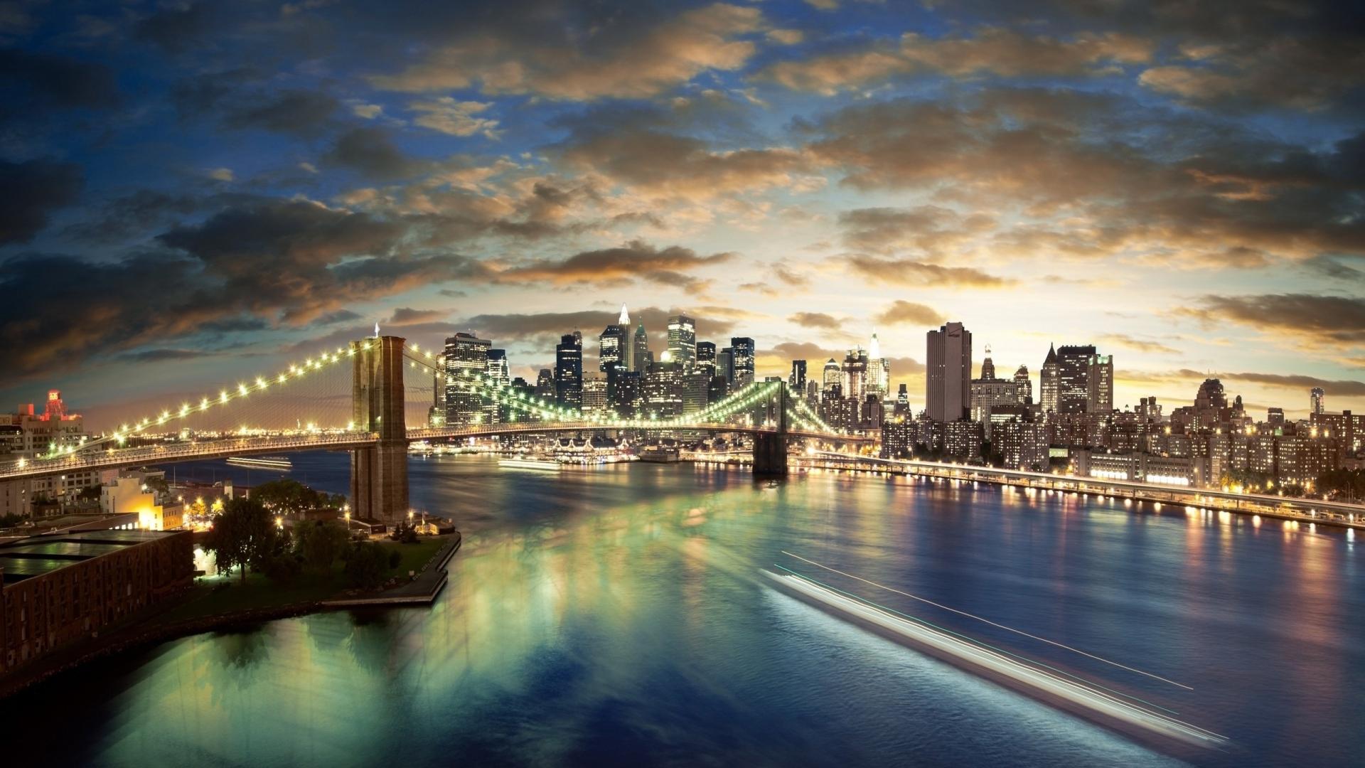 Most Inspiring Wallpaper City Background - city_buildings_bridges_clouds_sea_night_lights_landscape_58848_1920x1080  Picture_7035100 .jpg