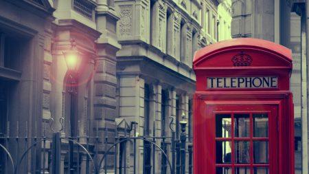 city, lights, telephone box