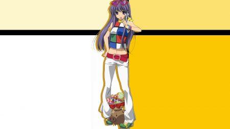 clannad, girl, candy