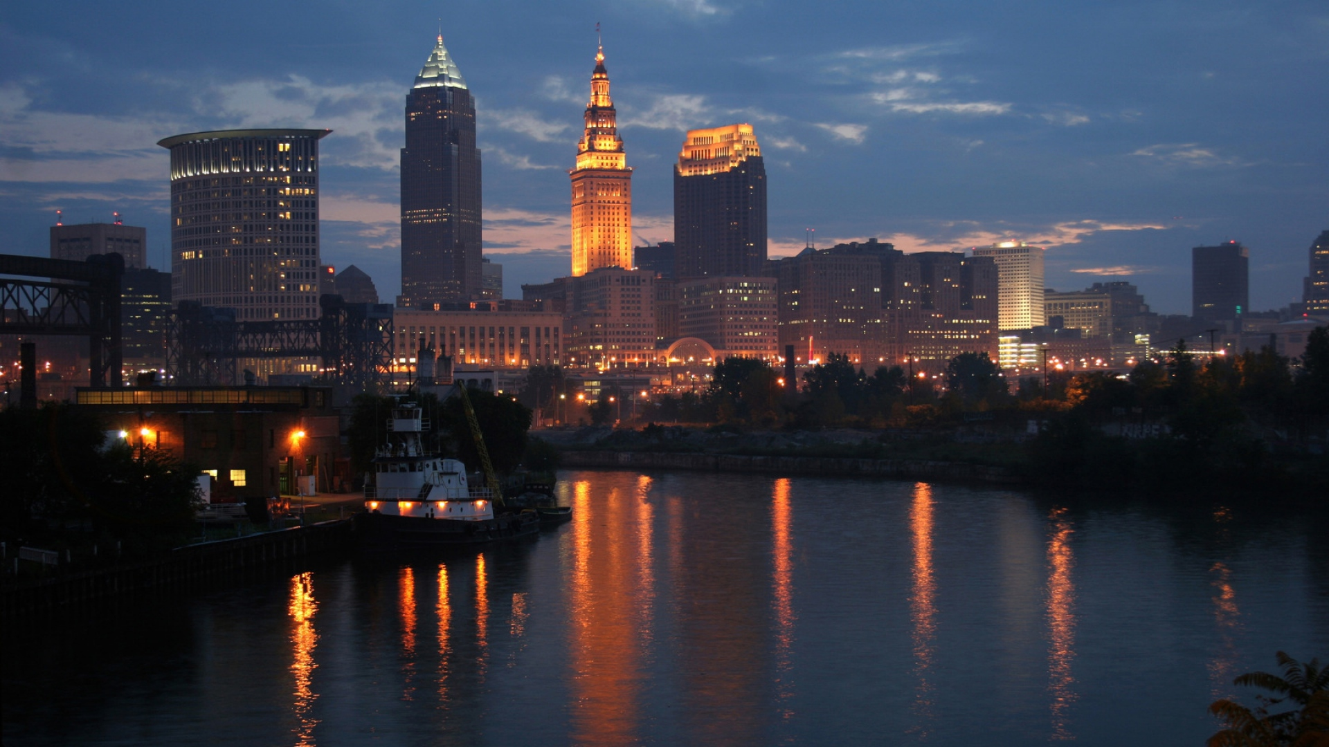 downtown cleveland ohio wallpaper - photo #23