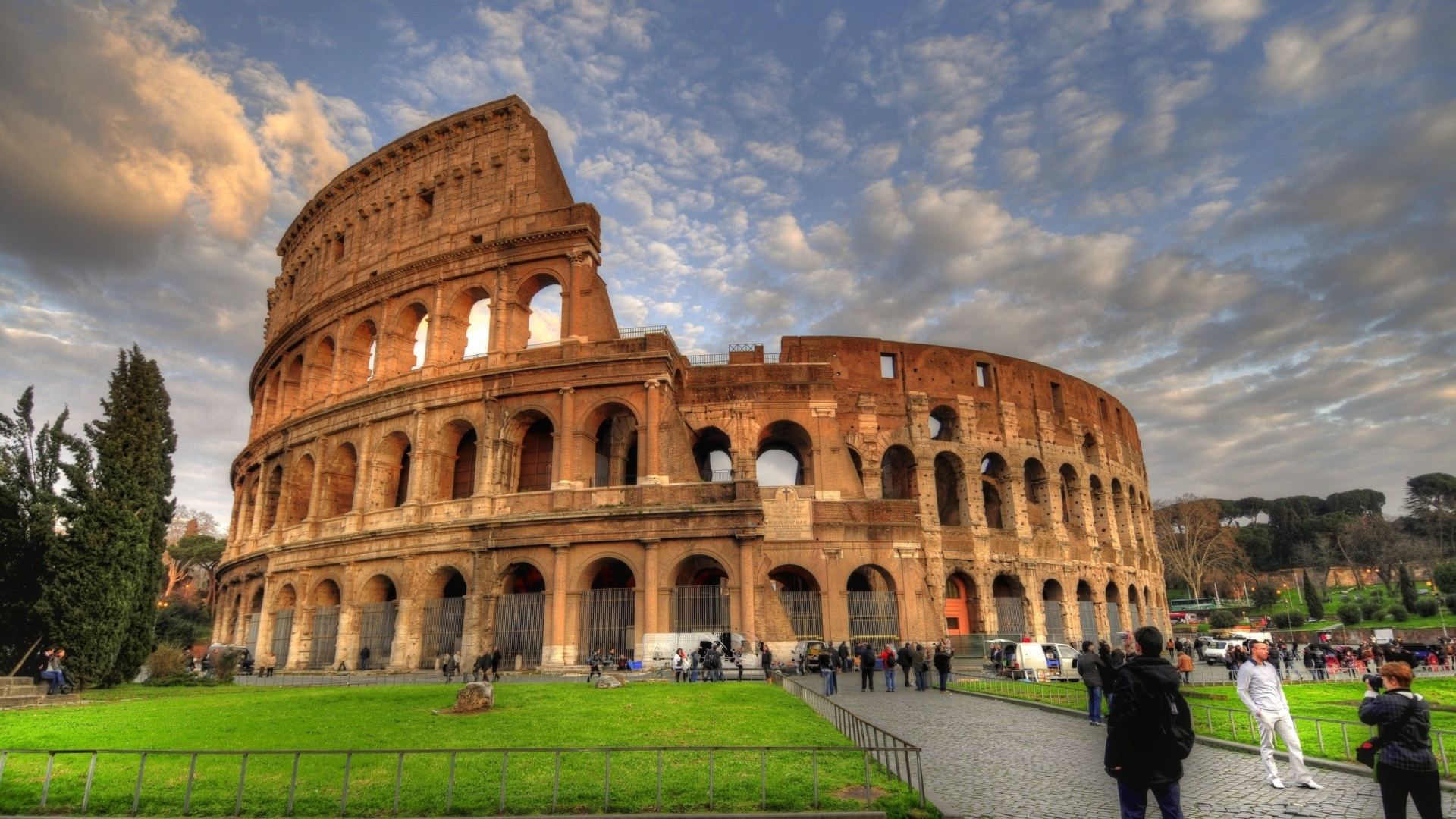 background information about rome