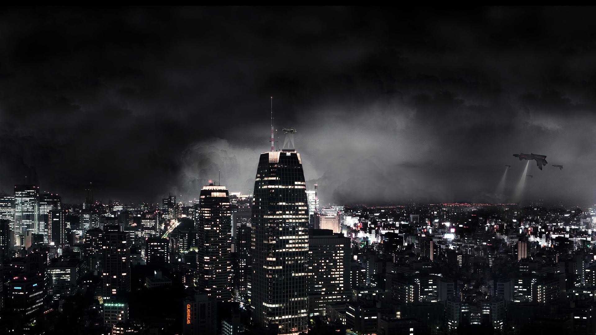 Cool Wallpaper Night Fantasy - dark_city_night_fantasy_skyscrapers_63183_1920x1080  Photograph-18210.jpg