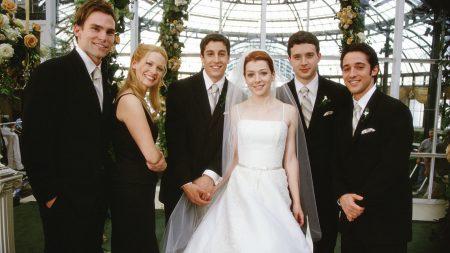 american wedding, actors, wedding