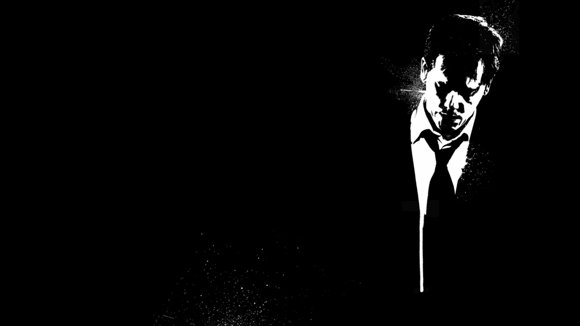download wallpaper 1920x1080 death sentence, bw, black white, man