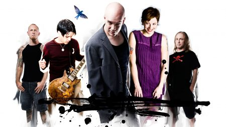 devin townsend, band, guitar