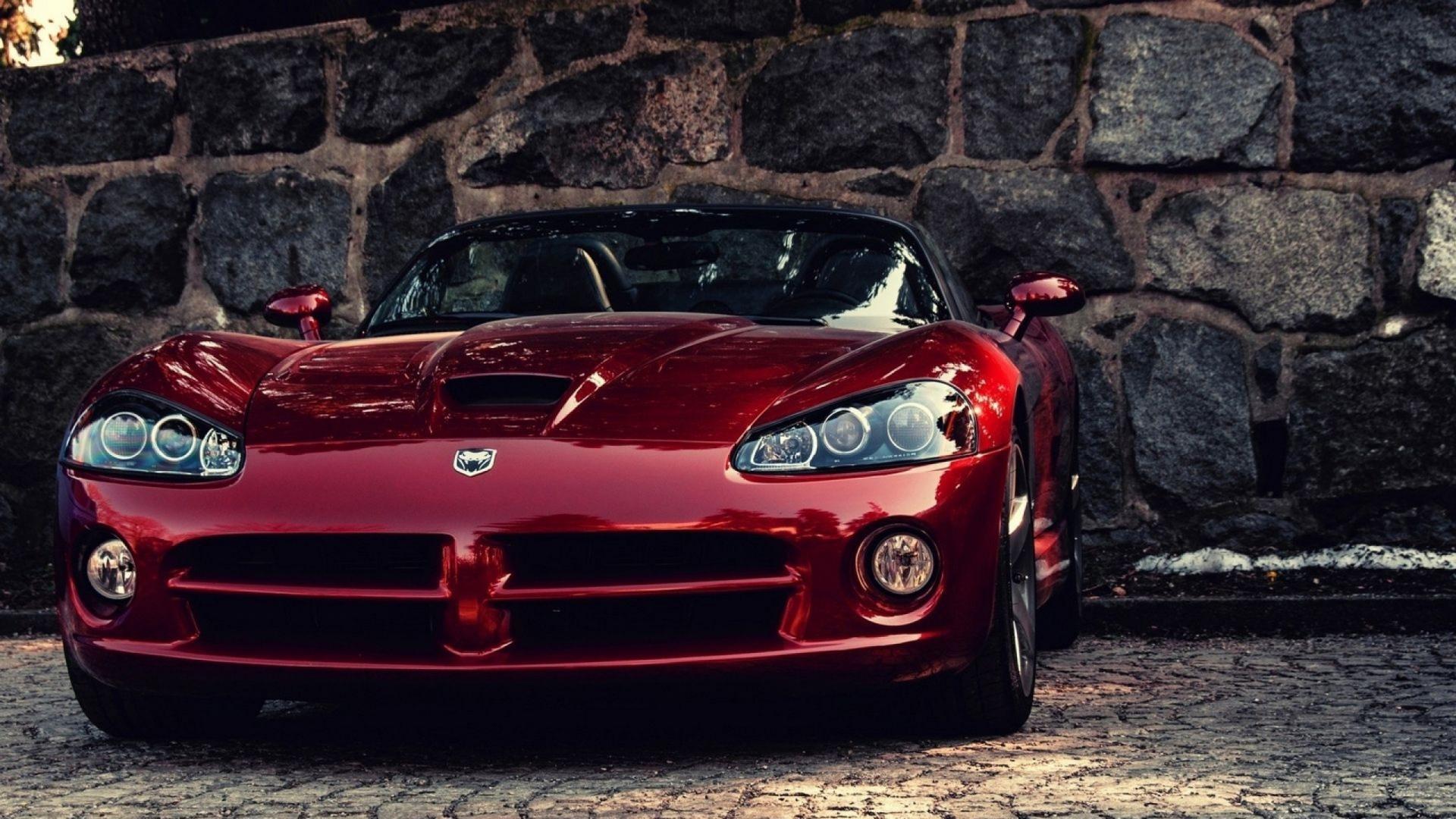 Dodge Viper Auto Red