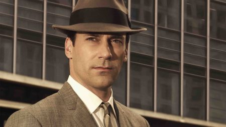 don draper, actor, hat