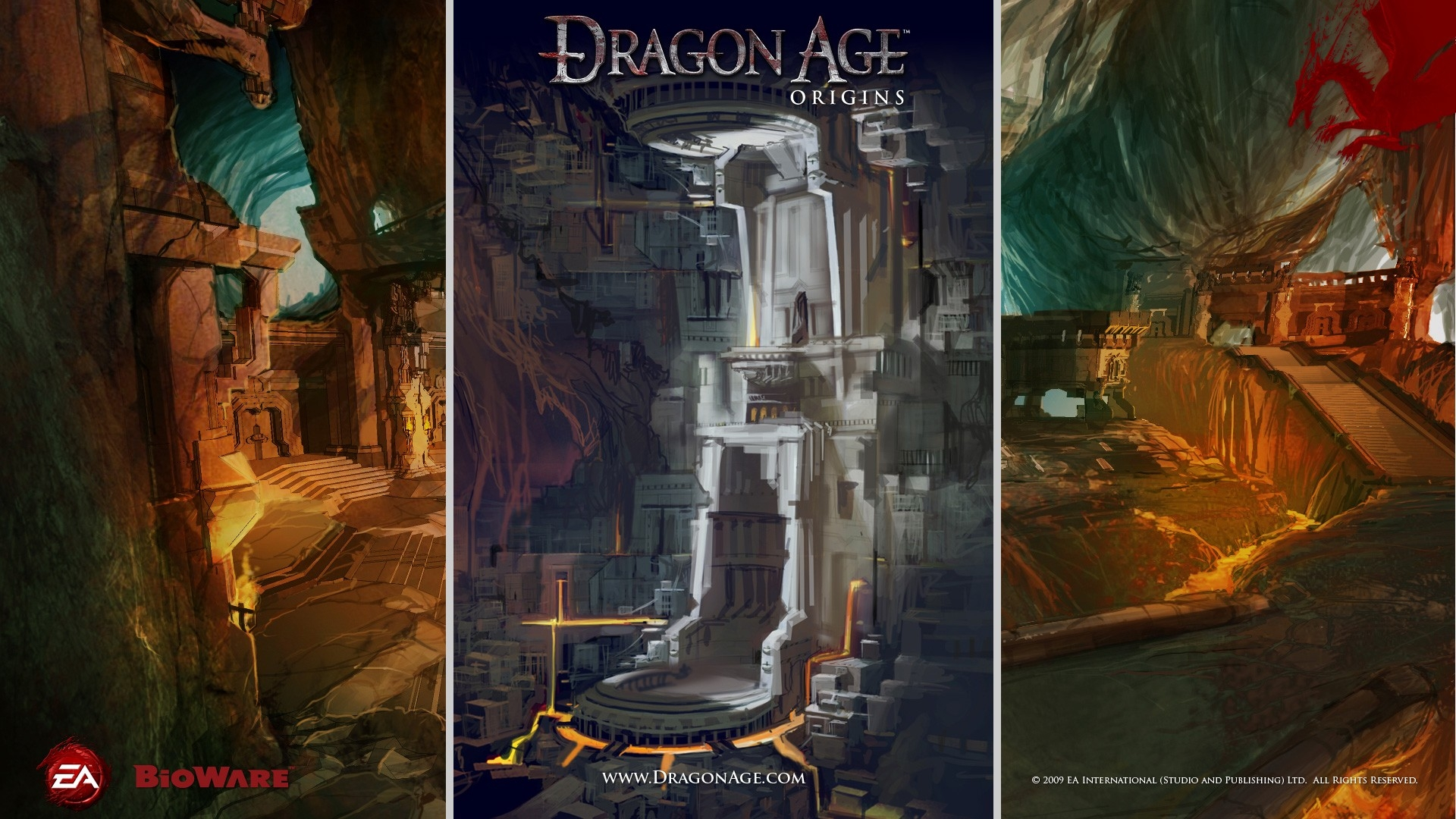 Dragon Age Origins Castle Cave